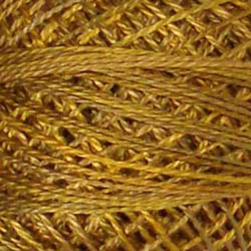 P5 PERLE COTTON TARNISHED GOLD